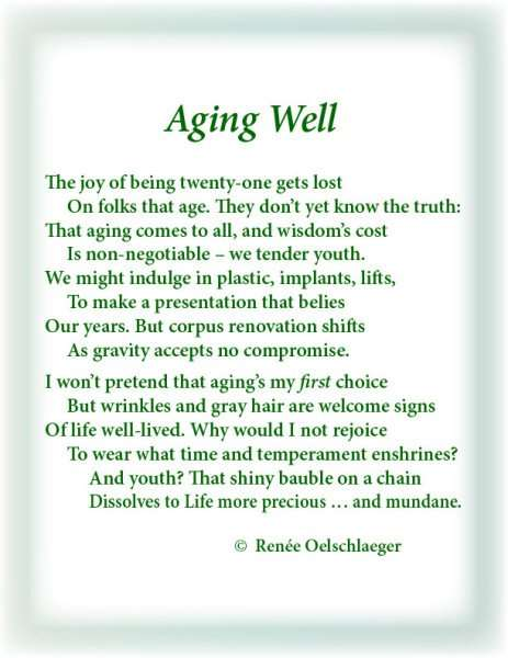 research paper on aging