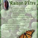 Raison-D-Etre, writing, grand ballet, versifying, writing poetry, poetry, light verse, poem