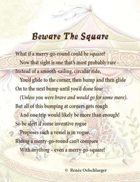 Beware-The-Square, merry-go-round, merry-go-square, light verse, poetry, poem