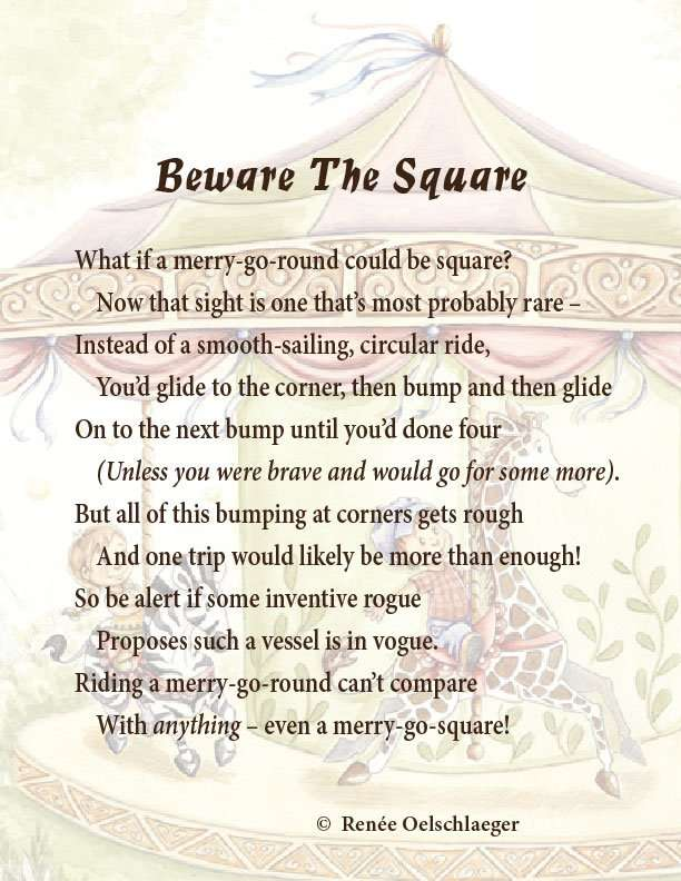 Beware-The-Square, merry-go-round, merry-go-square, light verse, poetry, poem