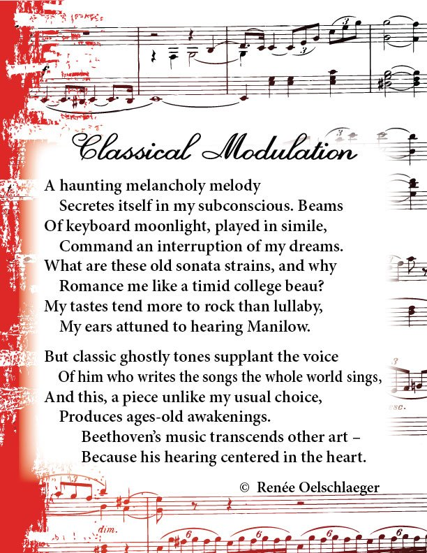 Classical-Modulation, Beethoven, Manilow, romance, music, classical music, hearing, sonata, sonnet, poetry, poem