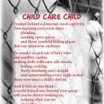Child-Care-Child, loneliness, sad child, poetry, poem