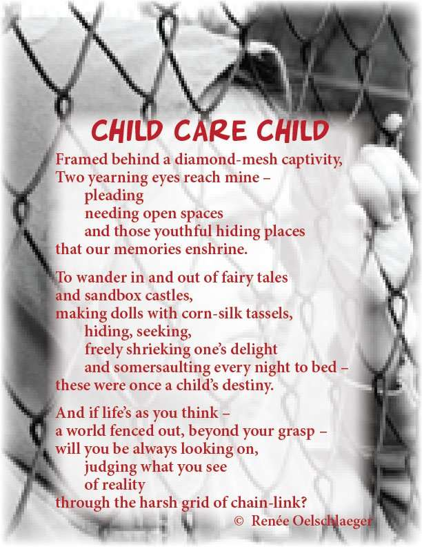 Child-Care-Child, loneliness, sad child, poetry, poem