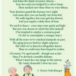 Truth-On-Youth, growing old, aging, love poem, light verse, poetry, poem