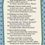 Whys-Words, asking why, wordplay, light verse, poetry, poem