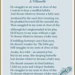 My-Son, mothering, sons, babies, light verse, poetry, poem, villanelle