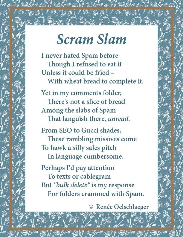 Spam, Poetry, Poem, Verse, Whimsy