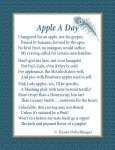 Apple A Day, Apples, poetry, poem, verse, Pink Lady, Granny Smith