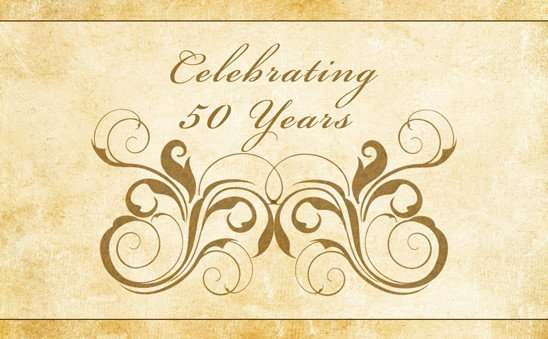 golden-anniversary-script-reply-cards-finished-back-motif-celebrating
