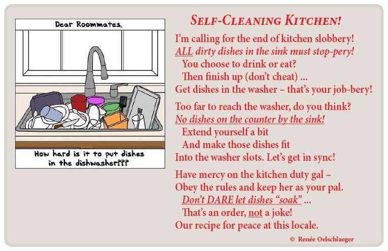 a kitchen poem