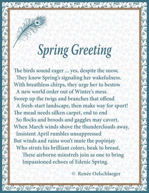 Spring-Greeting