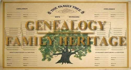 fam tree genealogy