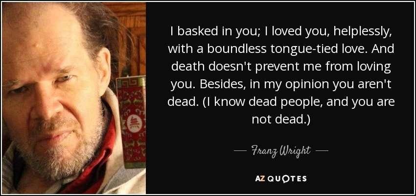 Franz Wright
