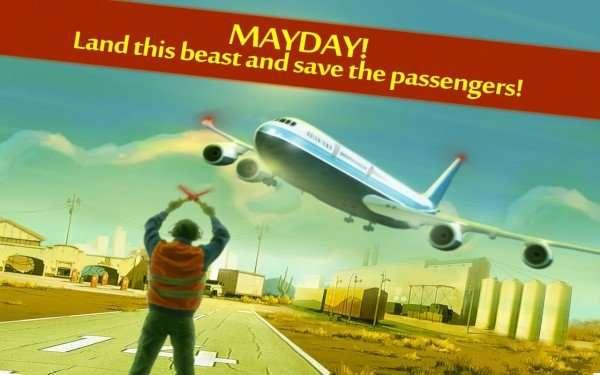MaydayLandPlane