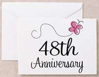 48th_anniversary_butterfly_greeting_card
